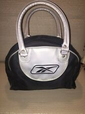 Reebok Sport/Gym Bag. Gray And White Small Size