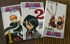 Bleach Manga (Vol 1-3)