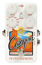 EHX Electro Harmonix Canyon Delay and Looper Guitar Effects Pedal