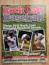 VINTAGE 2012 NEW BRITAIN ROCKCATS SOUVENIR PROGRAM TWINS Rock Cats Connecticut