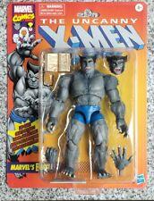 "Uncanny X-Men Marvel Legends Vintage Retro Series Grey Beast Action Figure 7"""