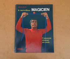 Le merveilleux magien Gérard Majax magie pretidigitation Nathan dédicace