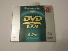 NEW SEALED Panasonic Single DVD-RAM LM-AF120U 120 MIN RARE DISCONTINUED