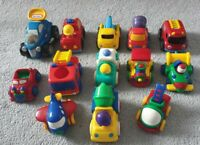 13 ELC/little tykes magnetic cars bundle Push And Go friction