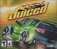 JUICED Street Car Racing Sim PC Game NEW Sealed Win98-X