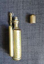 GUERRE 1914-18 ancien briquet en cuivre travail de tranchée