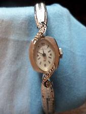 Hamilton white gold and diamond watch- Vintage
