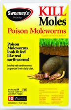 Sweeney Poison Mole Worm Baits qty 10 S6009