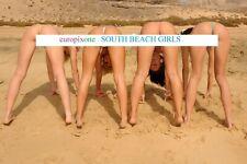 HOT GIRLS ~ MICRO BIKINIS ~ SEXY A4 SIZE GLOSSY PHOTO