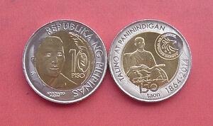 Philippines 2014 Apolinario Mabini 10 Piso Bi-metallic Coin