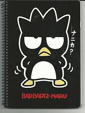 Sanrio Bad Badtz Maru Spiral Notebook Die Cut