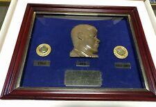 John F Kennedy JFK Commemorative Coin Set 1964 24 K Gold Rubies Emeralds