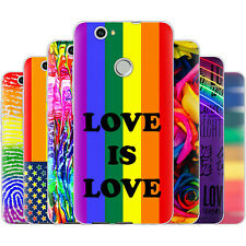 Dessana Lgbtq + Rainbow Silicone Protection Cover Case Phone For Huawei