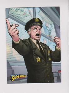 2013 Cryptozoic DC Superman: The Legend #47 General Sam Lane card
