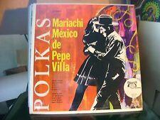 SEALED MEX LP~PEPE VILLA~MARIACHI MEXICO DE~ZOPILOTE/CAMINO AL BANO~NORTENA~HEAR
