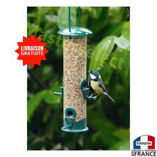 Mangeoire pour oiseaux à suspendre distributeur de graines pour arbres 25cm