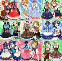 Anime Love Live! Lovelive Lolita Cosplay Uniform Maidservant Costume Candy Dress