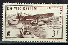 French Camerun Aviation Colonial Aircraft Airmail stamp 1941 MLH