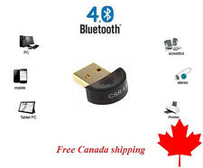 Bluetooth 4.0 CSR Dongle 4.0 USB Adapter Adaptateur for PC Laptop USB 2.0 A007
