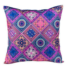 """Bandana Ethnic 24"""" / 60cm Large Outdoor Water Resistant Scatter Cushion Garden"""