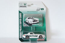 MAJORETTE DUBAI POLICE SPECIAL LIMITED EDITION M-BENZ SLS ~1/60 ( Free Shipping)