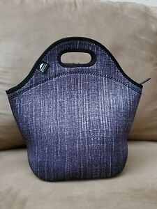 Nordic By Nature Cooler Lunch Box Tote Neoprene With Water Bottle Sleeve NWOT