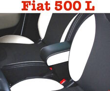Bracciolo con portaoggetti bianco e nero  bicolor Fiat 500 L Trekking Armlehne
