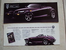 Catalogue PLYMOUTH PROWLER