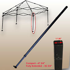 Ozark Trail First Up Gazebo Canopy 10 X 10 ADJUSTABLE LEG Replacement Part Black