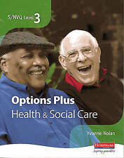 S/NVQ Level 3 Health and Social Care Candidate Book Options Plus-ExLibrary