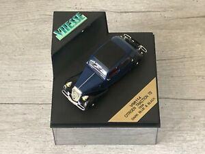 VITESSE V98114 Citroën Traction 7B Bleu & Noir 1934 1/43