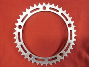 Used Vintage Campagnolo #753 Nuovo Record Road Chainring 42t x 144 mm BCD Silver