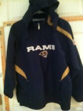 ST LOUIS RAMS Reebock 14/16 1/4 Zip