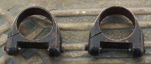 """Vintage Leupold Adjusto 7/8"""" Scope Rings"""