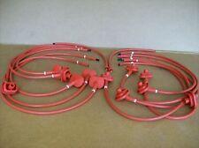FERRARI  Testarossa  Ignition Wire Set New Italian 124171 124172 124179 x2