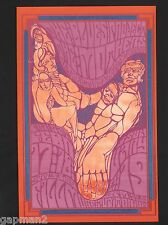 Fillmore Postcard BG50 Blues Project The Mothers Zappa Canned Heat Blues Band