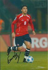 Gonzalo JARA Reyes Signed Autograph 12x8 Photo AFTAL COA CHILE Nottingham Forest