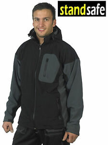 Mens Softshell Jacket Premium High Quality Durable Work Camping Hiking. RRP £45!