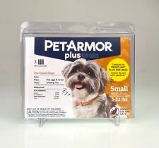 New listing PetArmor Plus Flea & Tick Prevention for Small Dogs (5-22 lbs), Sealed. New.