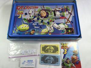 Toy Story 3 OPERATION skill board game Hasbro CIB COMPLETE Disney Buzz Lightyear