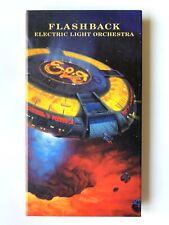 ELO FLASHBACK 3 CD Book Box Set Electric Light Orchestra Jeff Lynne