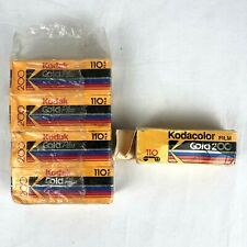 Vtg 4 Kodak GOLD Plus 200 110 Color Print Film (Exp. 1994) + 1 Kodacolor 200 110