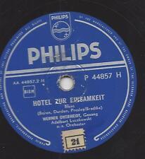 WERNER OVERHEIDT singt Elvis  : Hotel zur Einsamkeit = Heartbreak Hotel