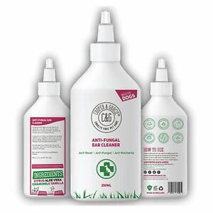 EAR CLEANER FOR DOGS - BEST ORGANIC NATURAL ANTI-FUNGAL ANTI-YEAST 250ML