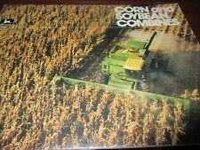 John Deere 8820-7720-6620-SideHill 6620-4420 Combines Sales Brochure 1980