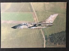 Vintage Postcard: Real Photo: Aeronautics: #A36 Squadron Tornado GR1 RAF
