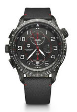 New Victorinox Swiss Army Airboss MACH 9 Black Dial Men's Watch 241716