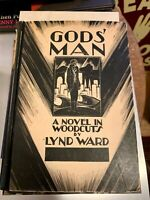 Gods Man A Novel In Woodcuts Book 1929 First Edition Second Printing Lynd Ward