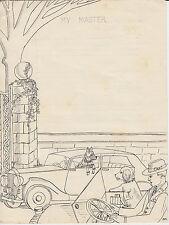 La mia principale DOG POESIA by J EATON-BUDE con disegno originale con costanza Mills