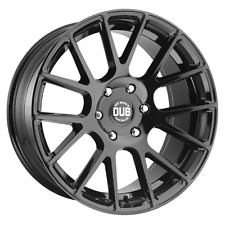 """Dub 1Pc LUXE Gloss Black 22x9.5"""" Rims Ford F150 Expedition/Lincoln6x135 +30 Each"""